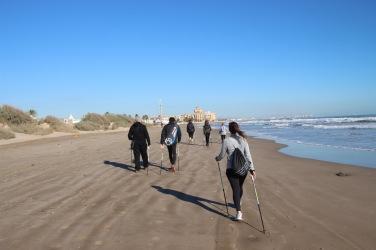 Nordic Walking Playa Valencia