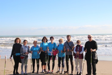 Nordic Walking Playa Valencia