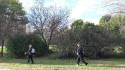Nordic Walking Valencia por el río Turia